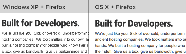 Windows vs OS X Comparison