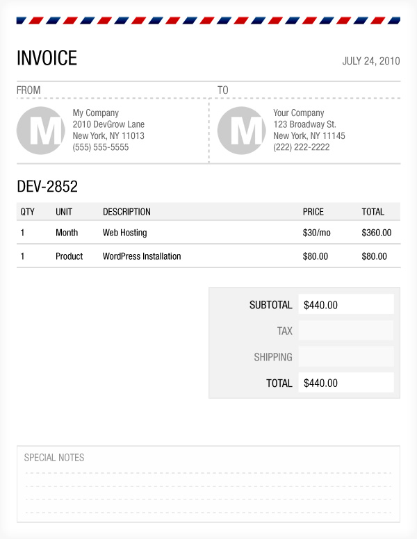Opposenewapstandardsus  Nice Free Photoshop Invoice Template  Devgrowcom With Gorgeous Download With Awesome Chicken Breast Receipt Also Rent Receipt Template India In Addition Free Rental Receipt Template Word And Deposit Receipt Sample As Well As Quiche Receipt Additionally Cash Payment Receipt Form From Devgrowcom With Opposenewapstandardsus  Gorgeous Free Photoshop Invoice Template  Devgrowcom With Awesome Download And Nice Chicken Breast Receipt Also Rent Receipt Template India In Addition Free Rental Receipt Template Word From Devgrowcom